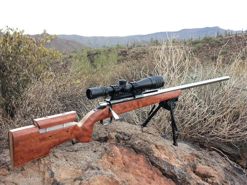 6mm Dasher built off an old Remington 788  Stock was built from