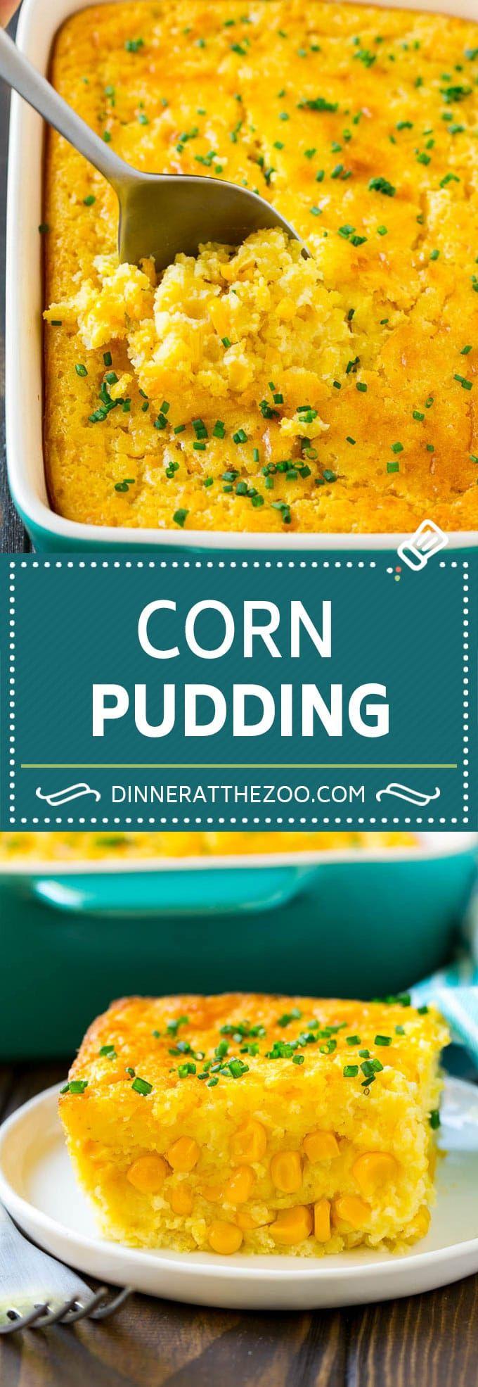 Corn Pudding Recipe | Corn Casserole | Corn Side Dish