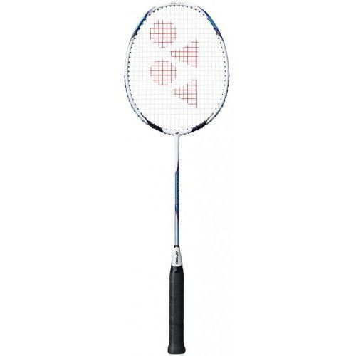 Yonex Voltric D33 White Light Blue Badminton Racquet Badminton Racket Yonex Badminton