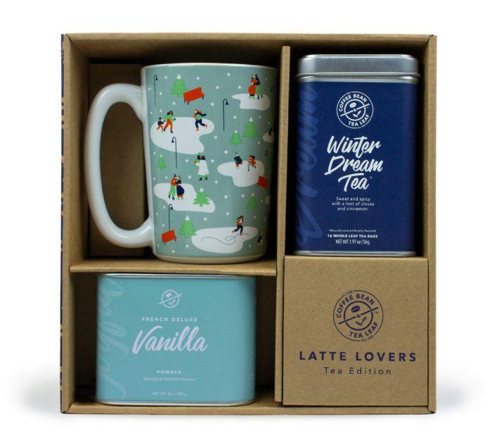 Winter Dream Tea Latte Gift Set The Coffee Bean Tea Leaf Tea Latte Recipe Tea Gift Sets Dream Tea