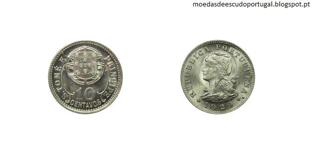 Moedas Portuguesas: Moedas das Ex-Colónias Portuguesas emitidas em 192...