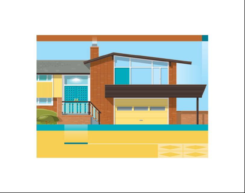 Mid-Century Modern Homes - Limited Edition Print Series ...