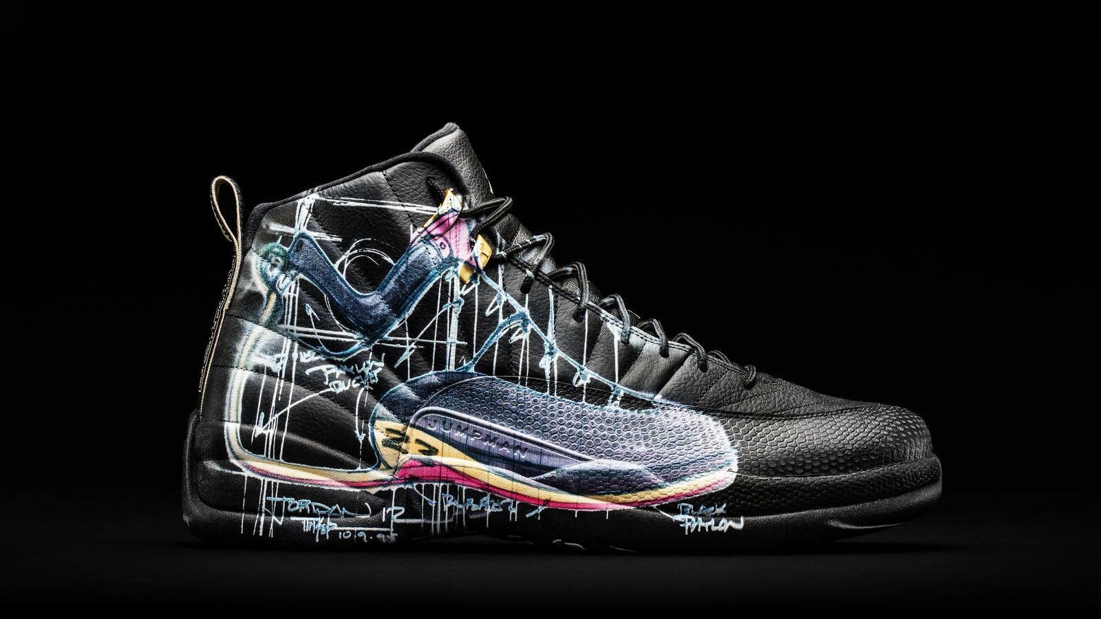 low priced d7f36 65cb9 Nike News - Nike Donates a Dozen Exclusively Designed Jordan XII to OHSU  Doernbecher