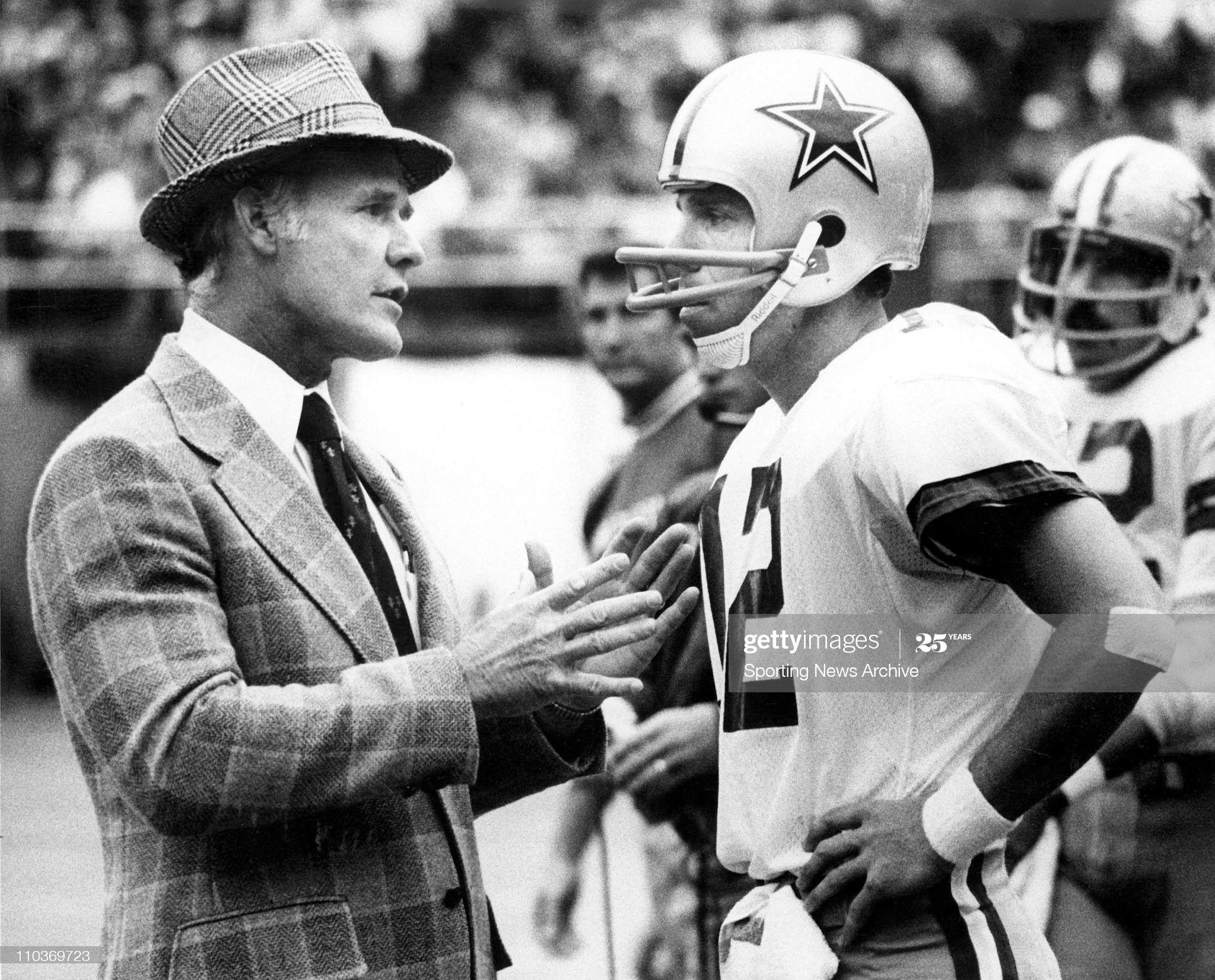 Dallas, TX, USA TOM LANDRY, Dallas Cowboys Head Coach