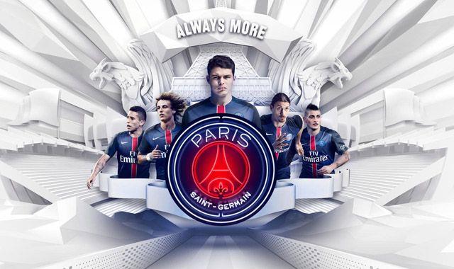 Camisas do PSG 2015-2016 Nike
