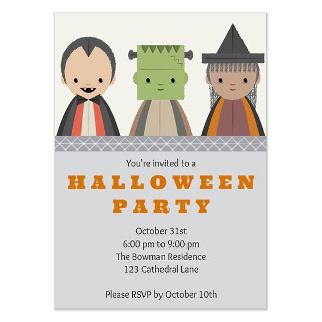 invite everyone to your halloween party with these free online