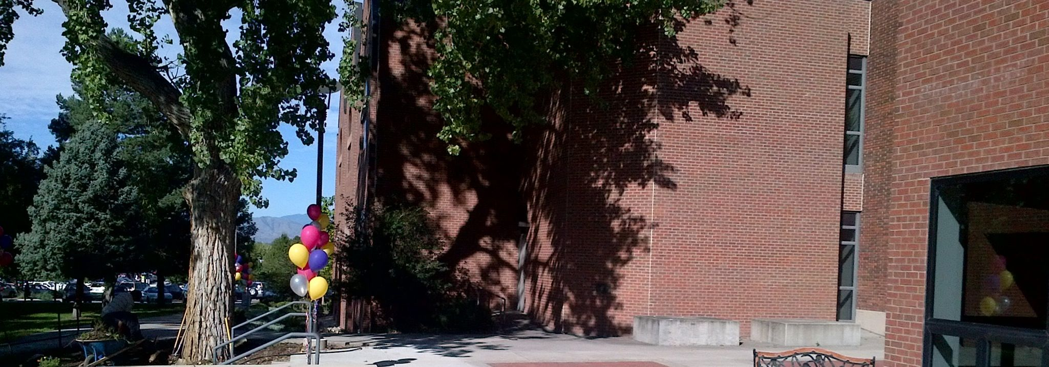 Porch side view at iliff school of theology f iliffontheroad co denver