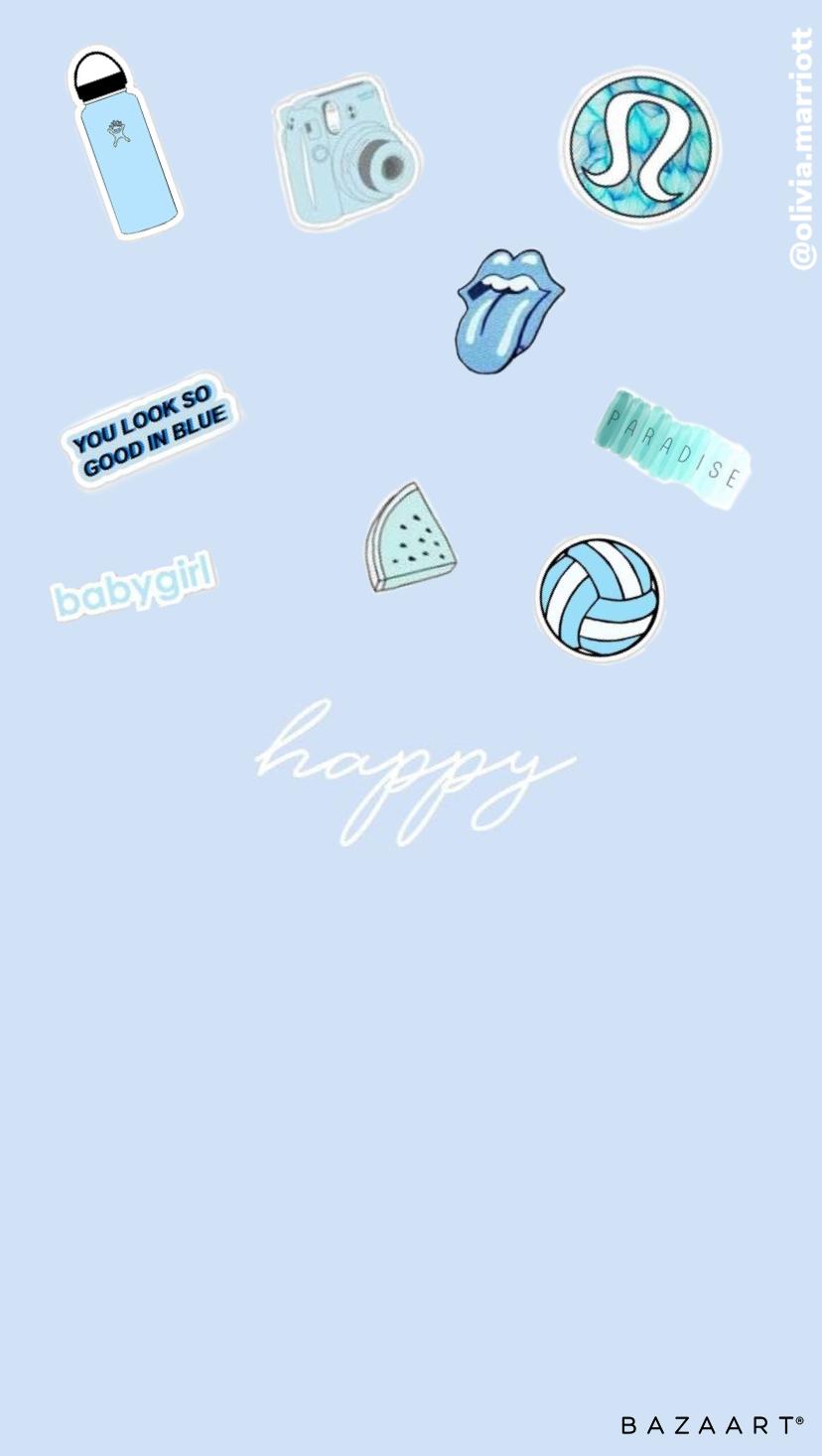 Vsco Light Blue Aesthetic Wallpaper Light Blue Aesthetic Baby Blue Wallpaper Blue Aesthetic