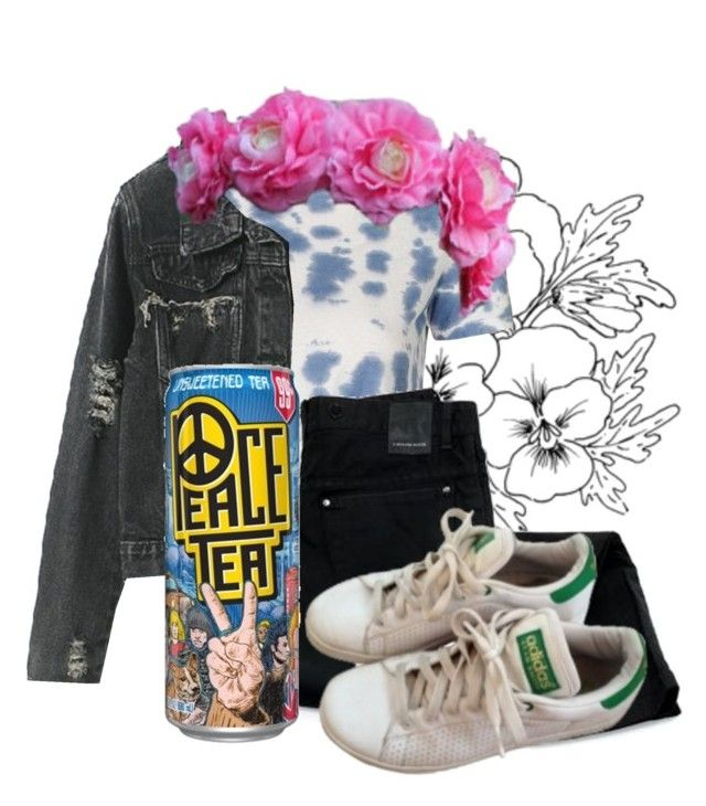 """""""YOUTH,"""" by rebeccapadilla on Polyvore featuring Topshop, Lommé and adidas"""
