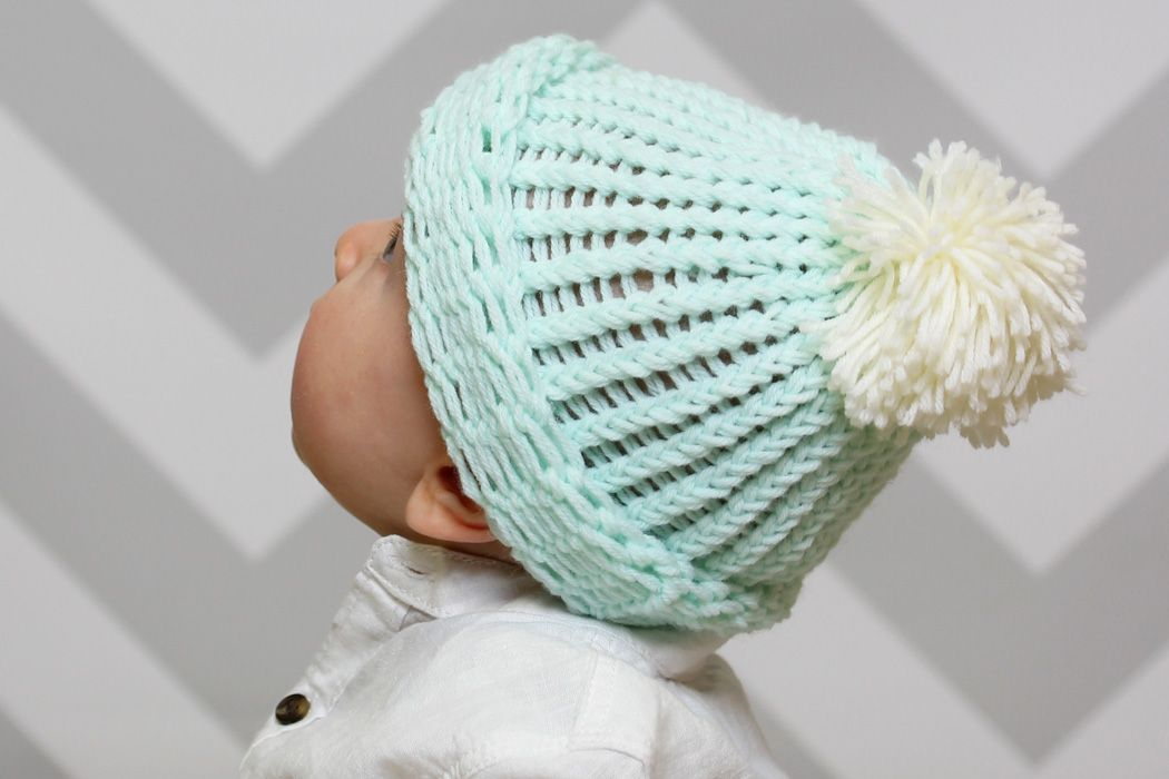 Baby Bobble Hat Knitting Loom Pattern Bobble Hats Loom Patterns