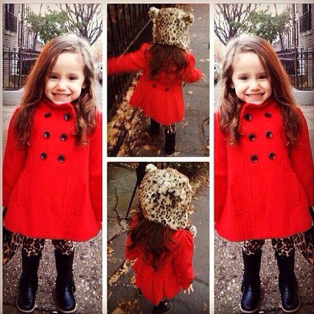 Adorable fall coat!
