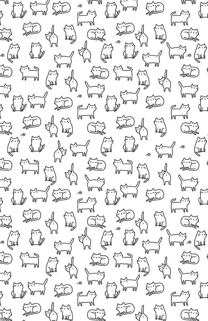 Cats. Cats. Cats Art Print