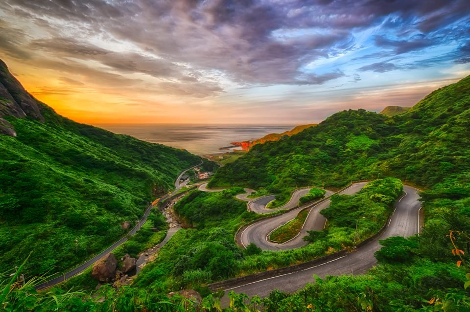 jinshui road in taiwan