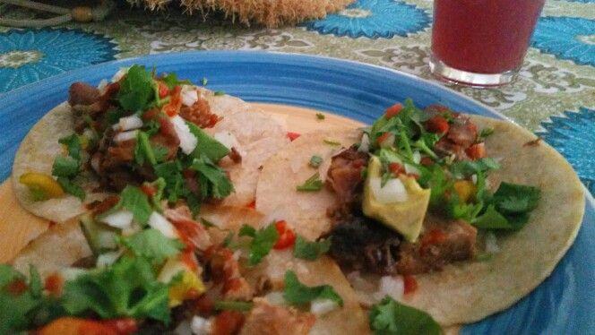 Jerk tacos, yumm