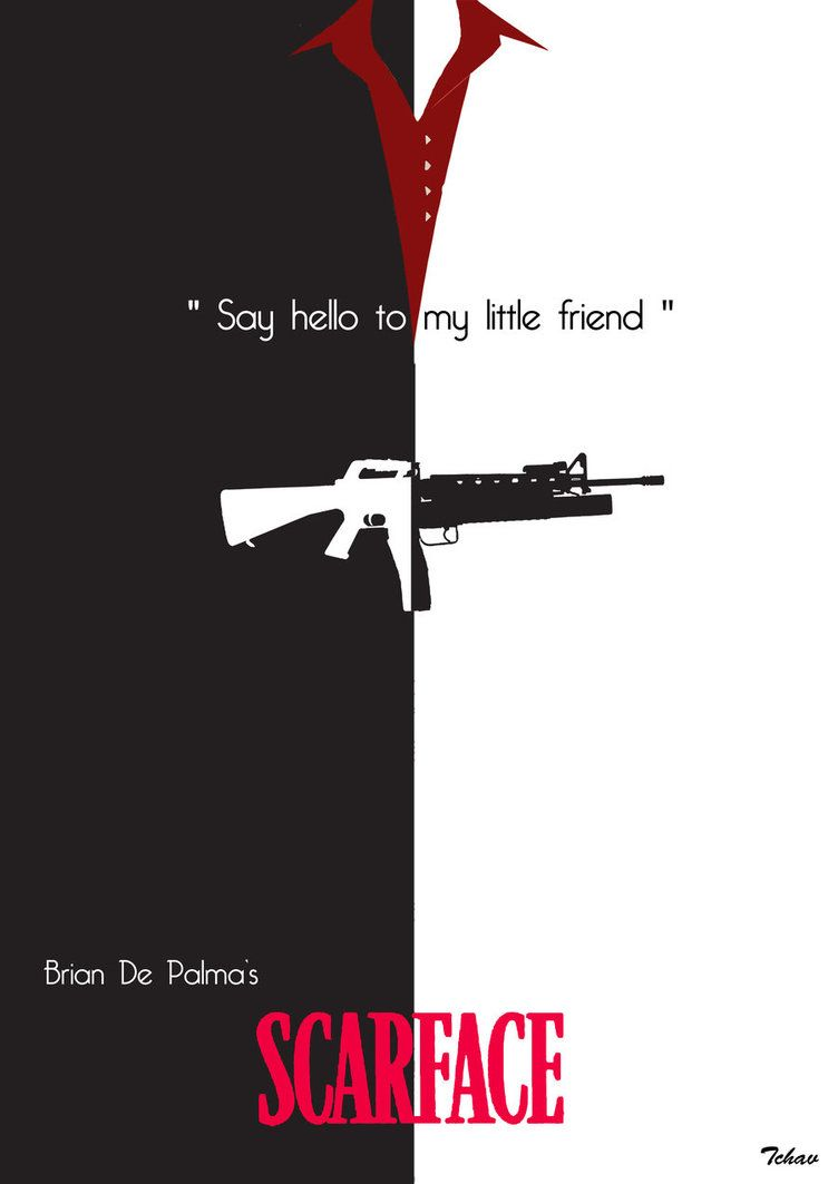 Scarface 1983 Minimal Movie Poster By Adrien Chavant Amusementphile Scarface Movie Movie Posters Minimalist Scarface