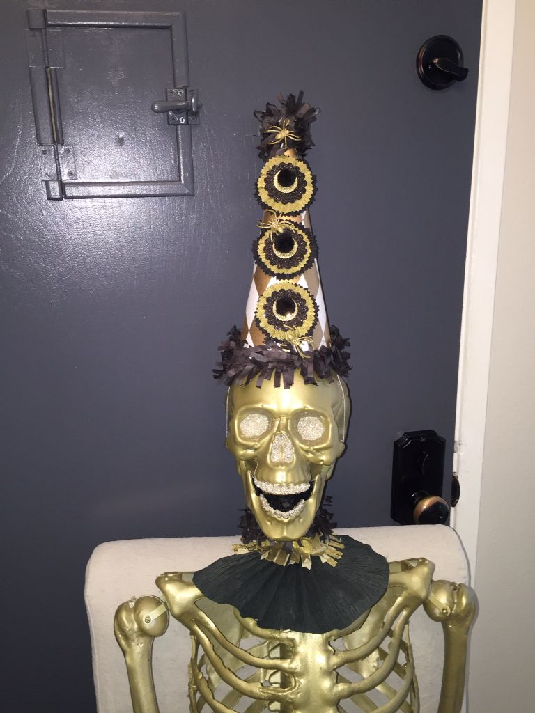 Made this out of a plain skeleton