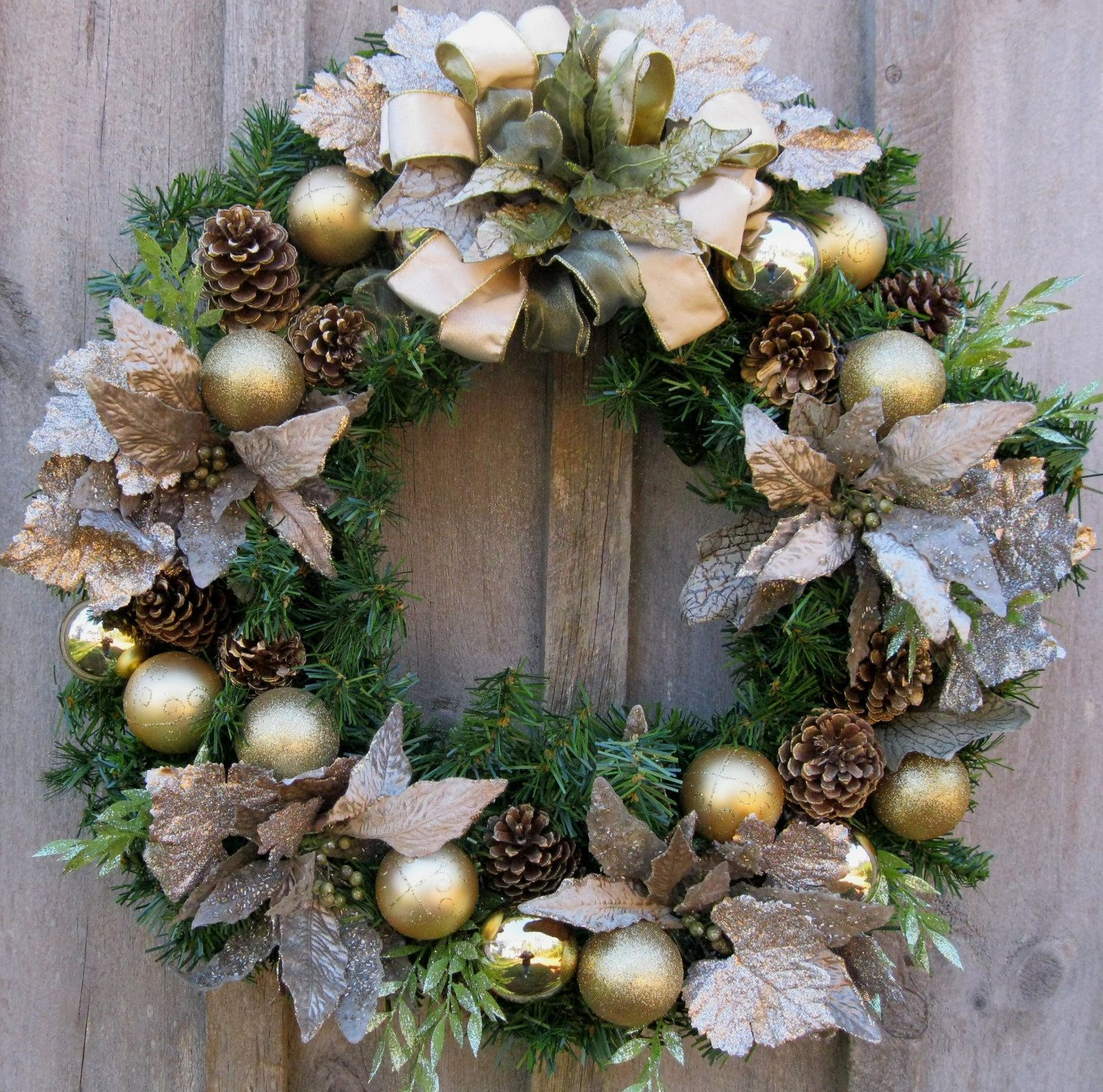 christmas wreath - Elegant Christmas Wreaths