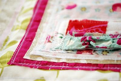 the pink couch: Art Quilt - finished!
