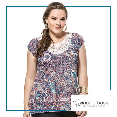 As estampas étnicas estão em alta e ficam lindas com peças básicas como o jeans e saias lisas. Incremente o look com seus acessórios preferidos. <3  http://www.vinculobasic.com.br/ #vinculobasic #verao2016