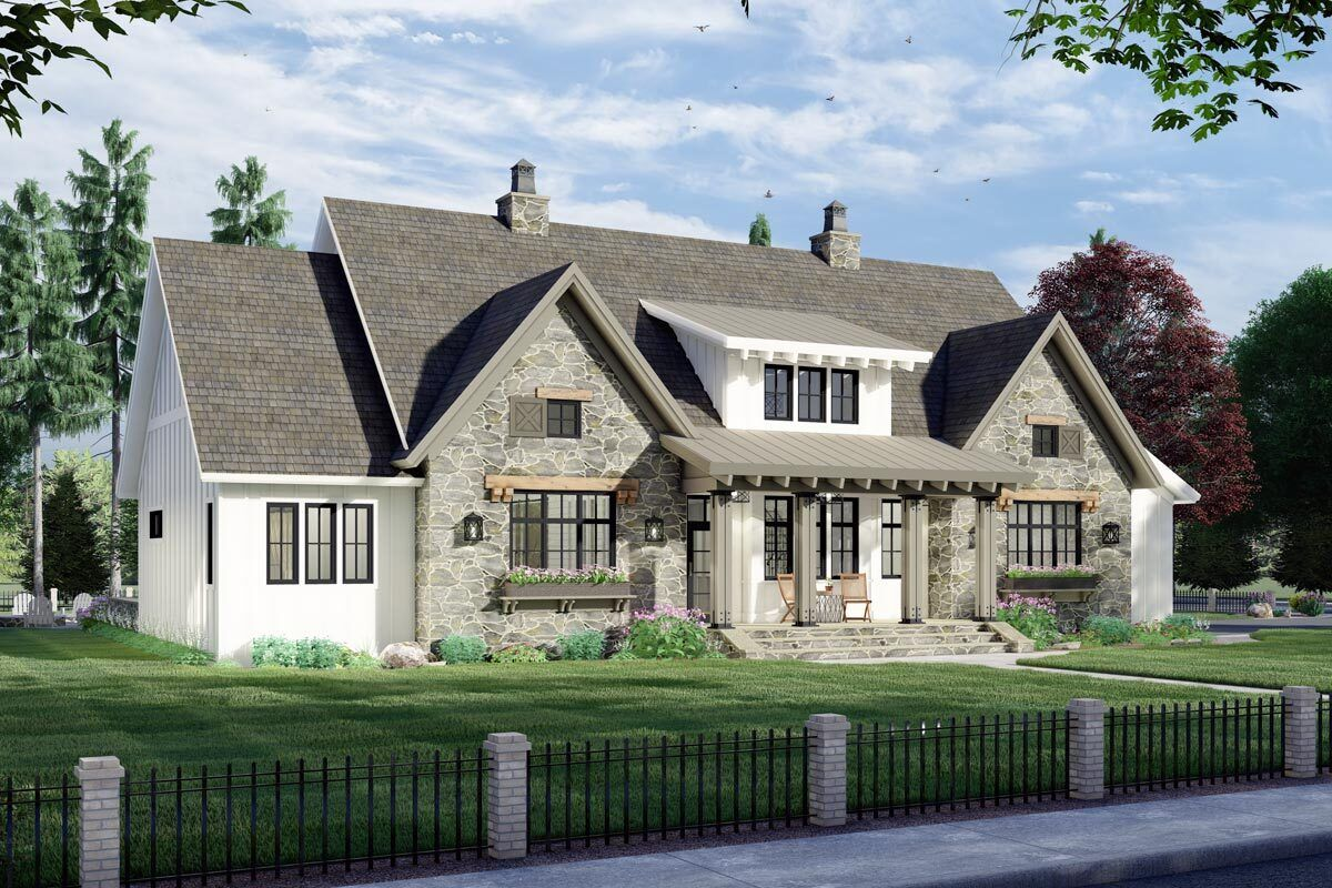 26+ Stone farmhouse plans inspiration
