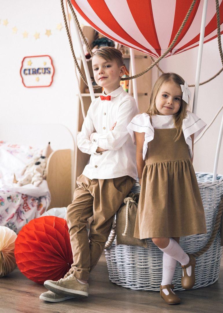 Повседневный сарафан – основа детского капсульного гардероба