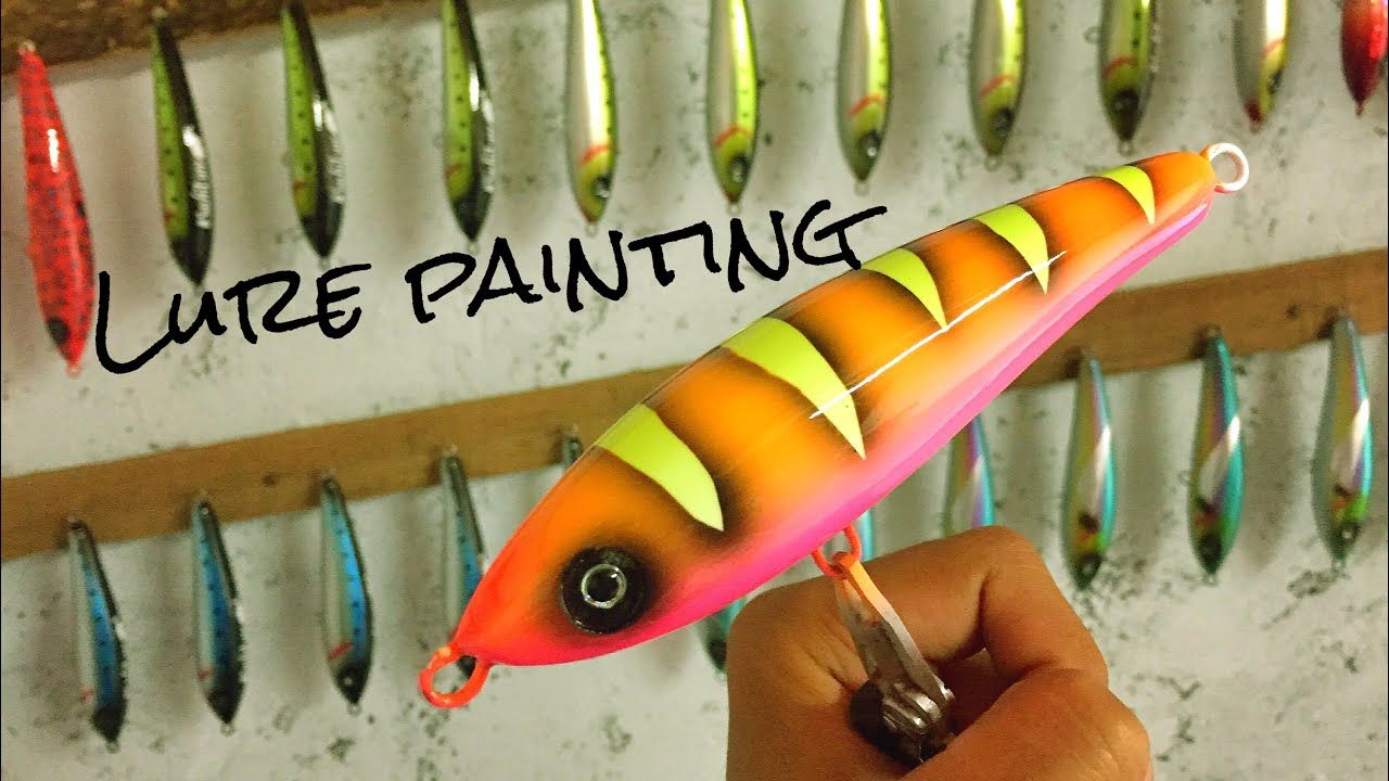 Cara mengecat swimbait 3 swimbait painting tutorial 3