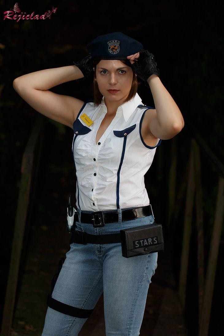 Jill Vallentine Resident Evil / Biohazard STARS Arrange cosplay I by Rejiclad  sc 1 st  Pinterest & Jill Vallentine Resident Evil / Biohazard STARS Arrange cosplay I by ...