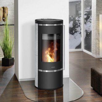 kaminofen oranier carus serie speckstein korpus stahl. Black Bedroom Furniture Sets. Home Design Ideas