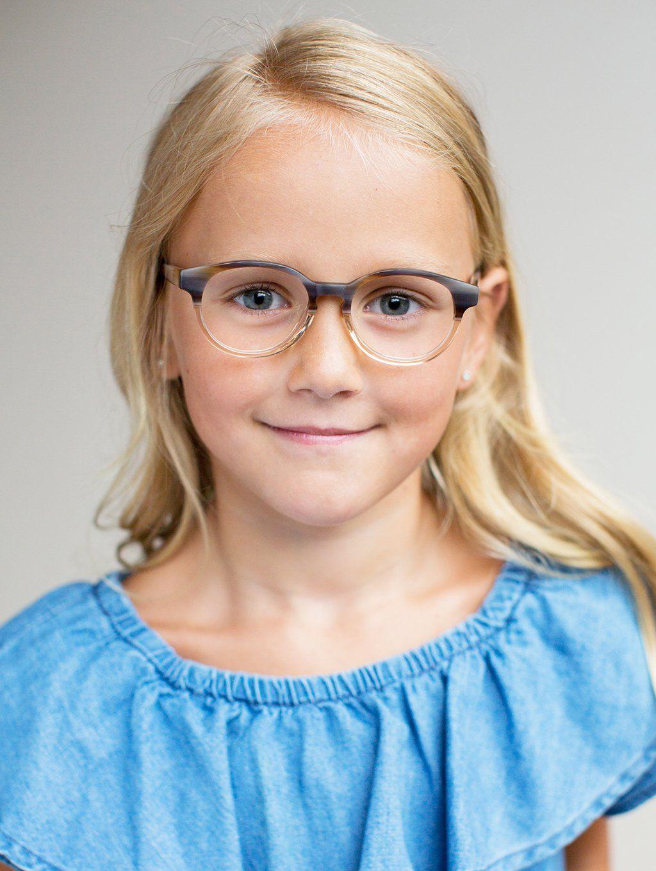 74c192e5df Limited Edition Kids Glasses    The Paige Walnut Fade