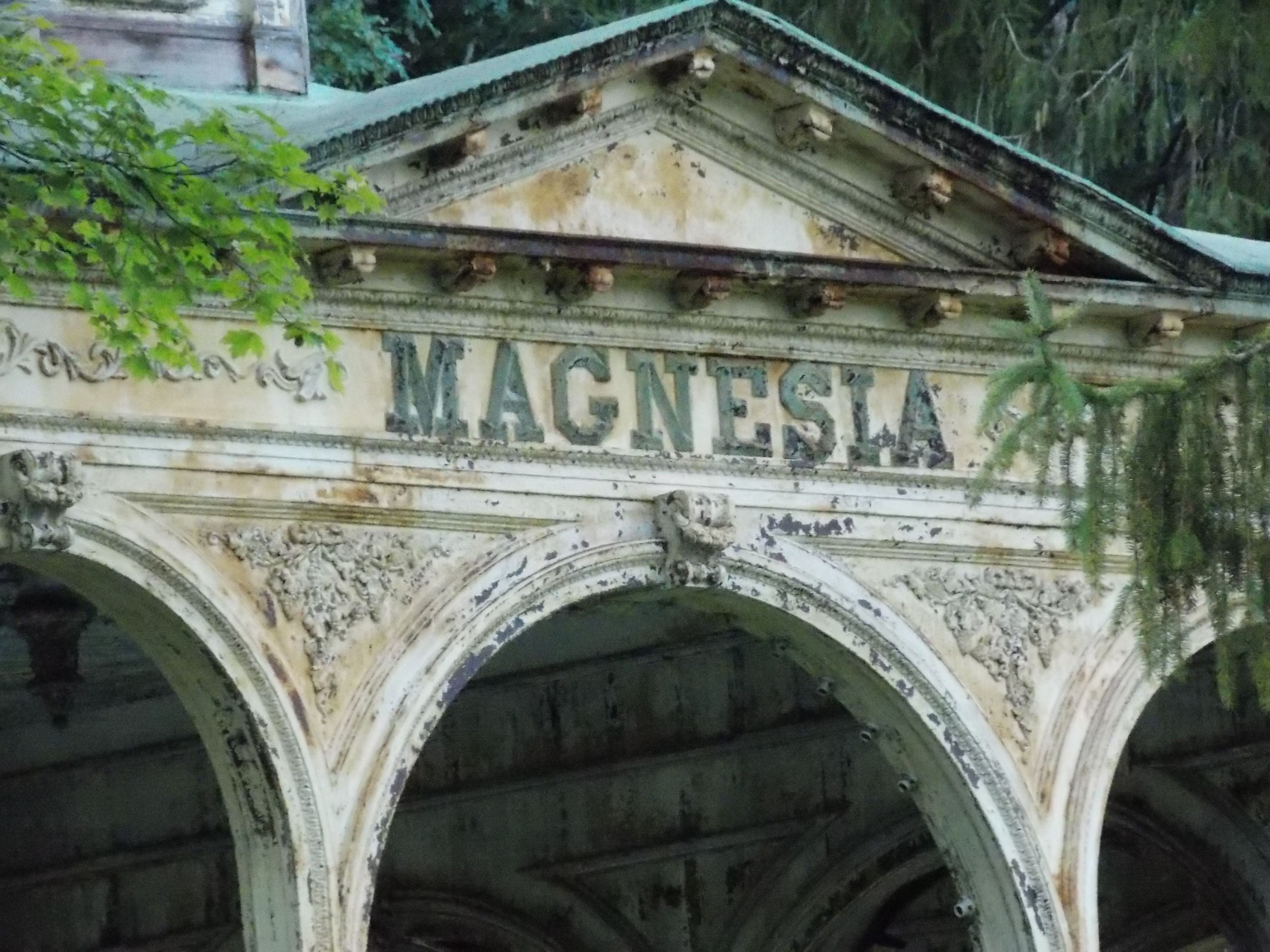 Magnesia Temple Sharon springs, Cat cafe, Local legends