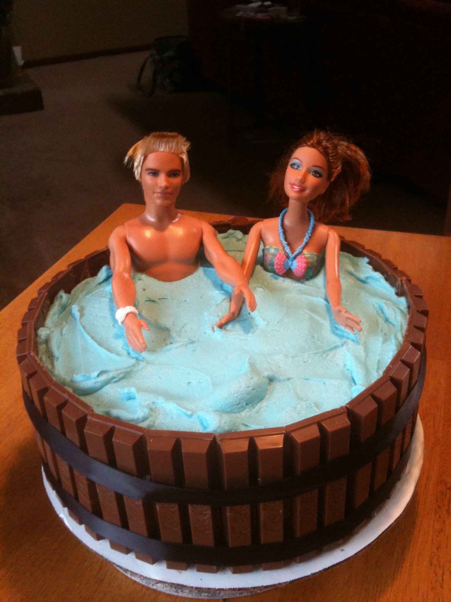 The Fashion Tart Barbie Cake Hen Party Cakes 40th Birthday