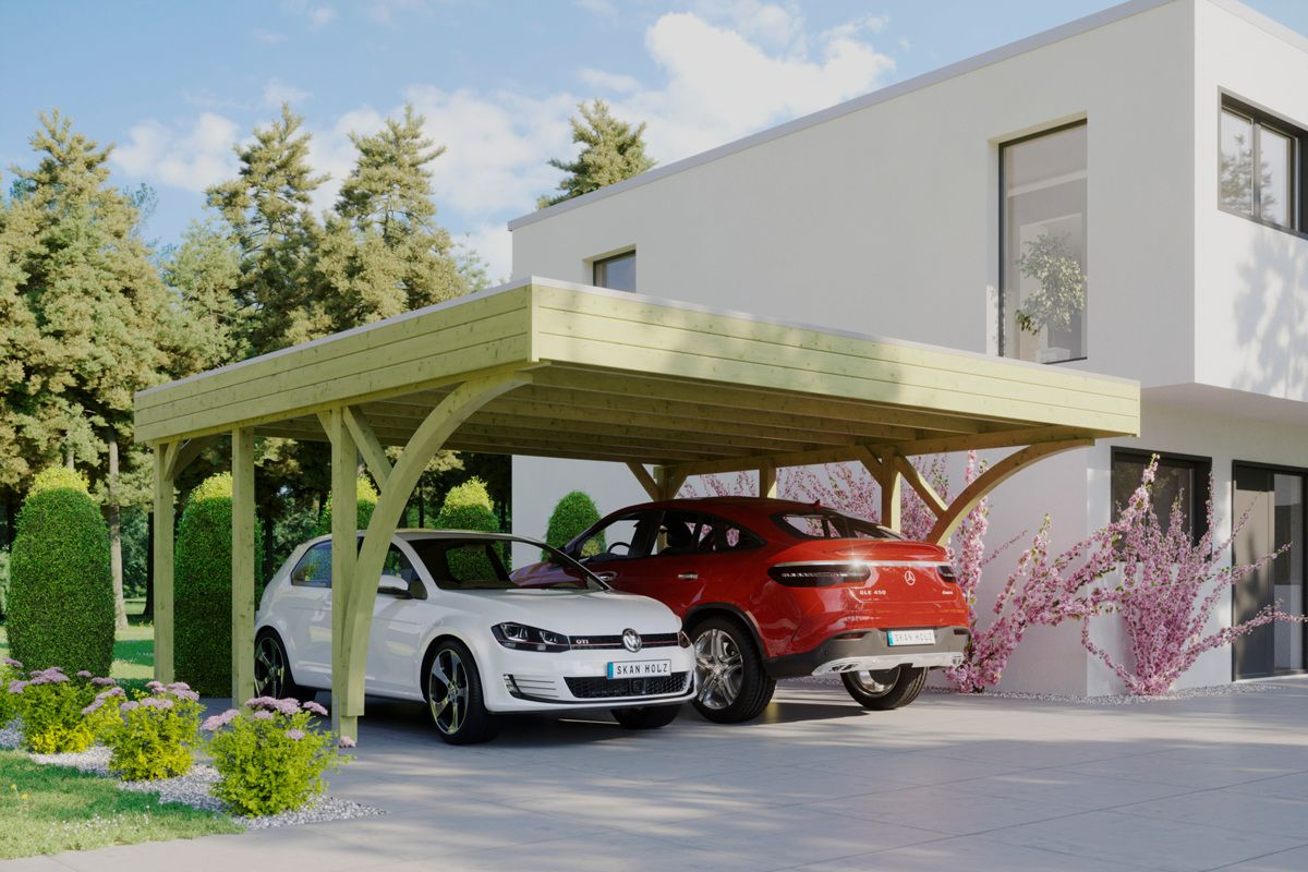 2 Car Carport 2021 in 2020 2 car carport, Carport