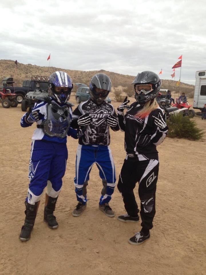 Cal citttty #Dirtbikes #Riding #Brap #Blonde #CalCity #Gear #Quads