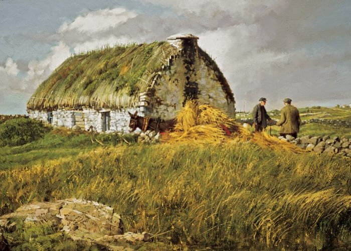 Thatch Delivery ~ Clark Hulings