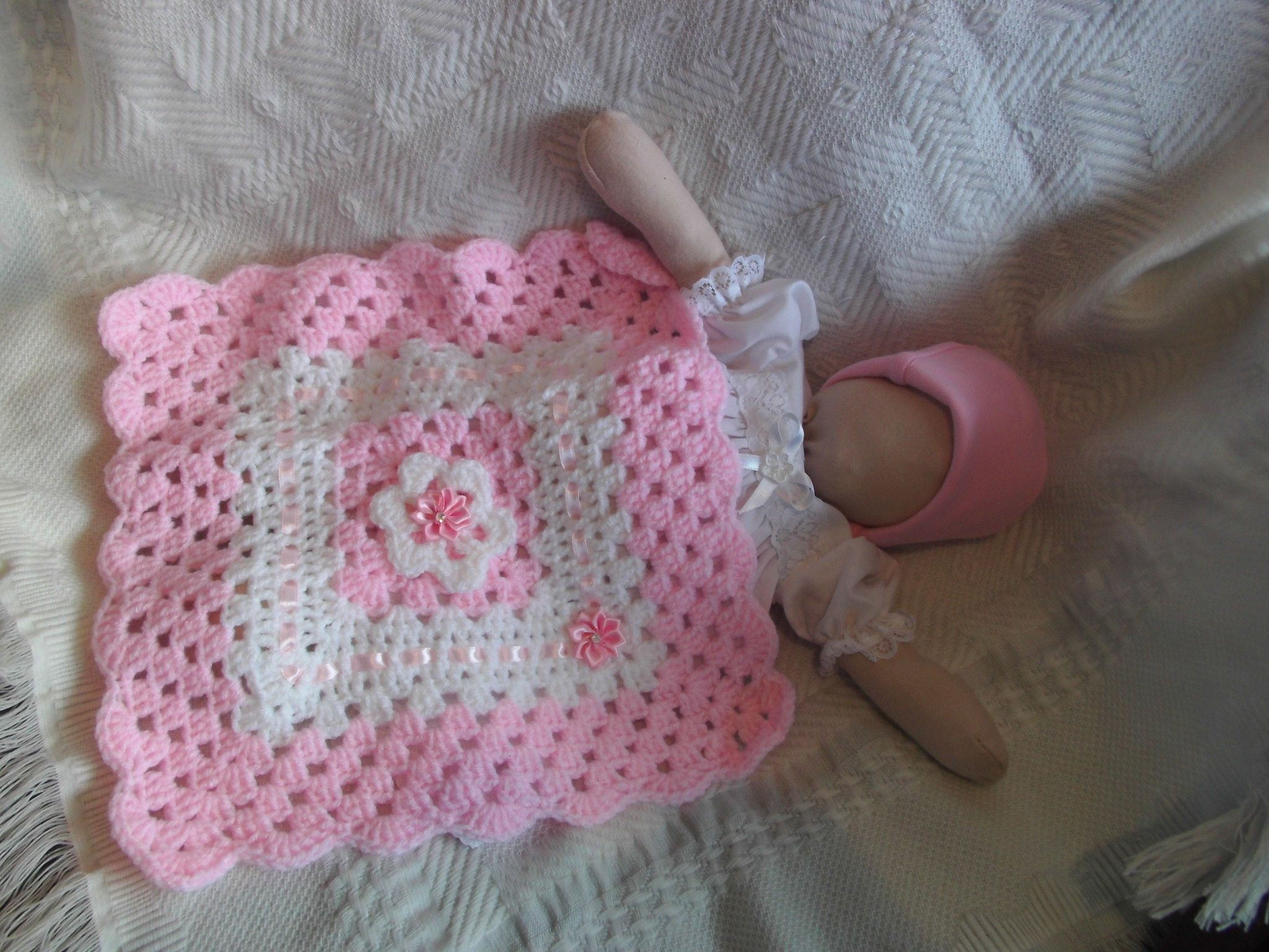 Pretty In Pink Baby Funeral Blankets Tiny Sizes Only By