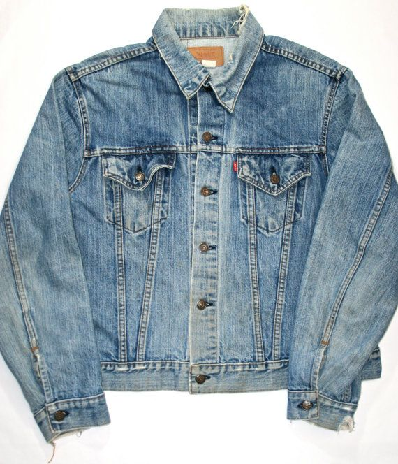 Vintage Mens Levis Jean Jacket Made in USA by