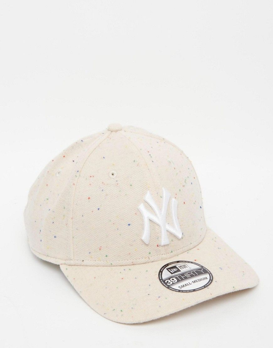 dee9684580a6 Image 1 - New Era - 39Thirty - Casquette ajustée mouchetée avec motif NY  Yankees