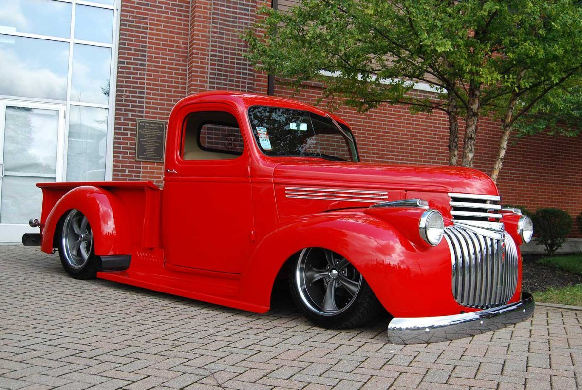 1946 Chevy Truck For Your Slammed Fix For The Day With Images