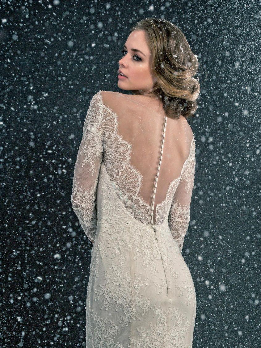 Styled Shoot: Snow Angel | Enzoani | Enzoani Insider | Pinterest ...
