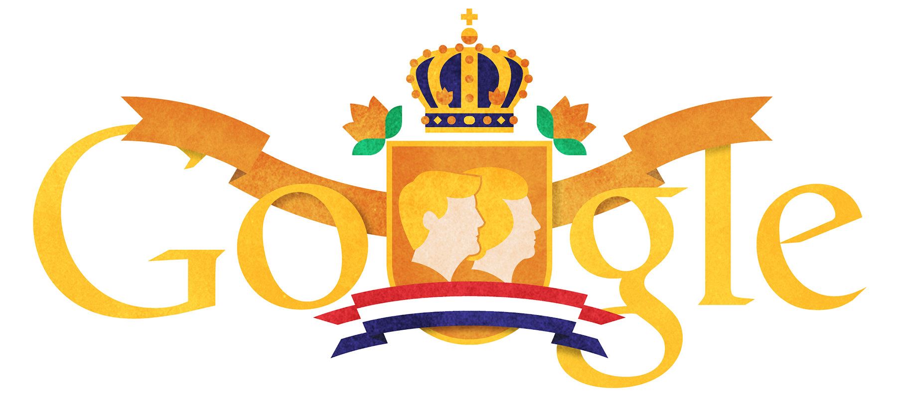 Queens Day 2013 [День королевы] /This doodle was shown 30