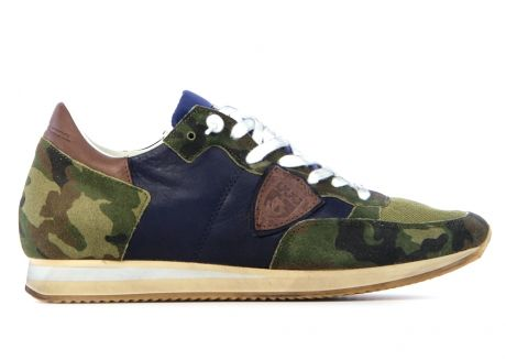 Camouflage Philippe Model Sneakers. Green ShirtBuy BuyMen's ShoesBrand ...