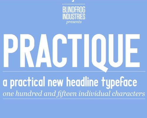 practiqe 60 Best Free Fonts To Use In Your Next Logo Design Project