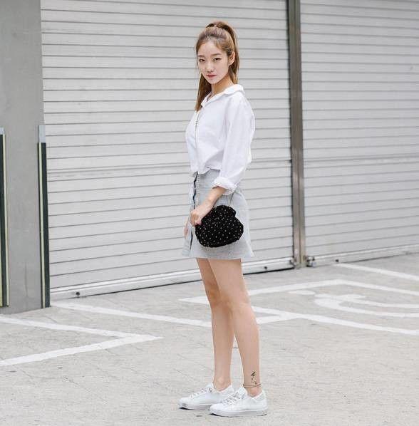 【街拍】首爾江南區:連便利店店員都是大美女!