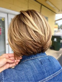 32 Glamorous Bob Hairstyles & Hairctus For Fine Hair #finehair