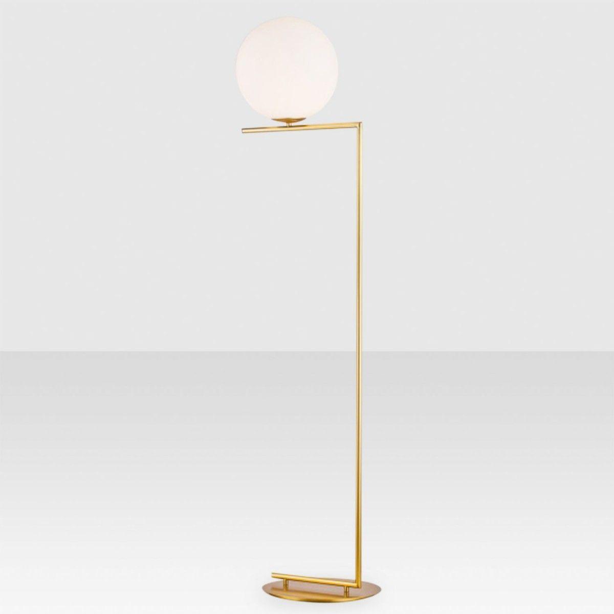 Offset globe floor lamp brass elte market 379cad lighting offset globe floor lamp brass elte market 379cad aloadofball Choice Image