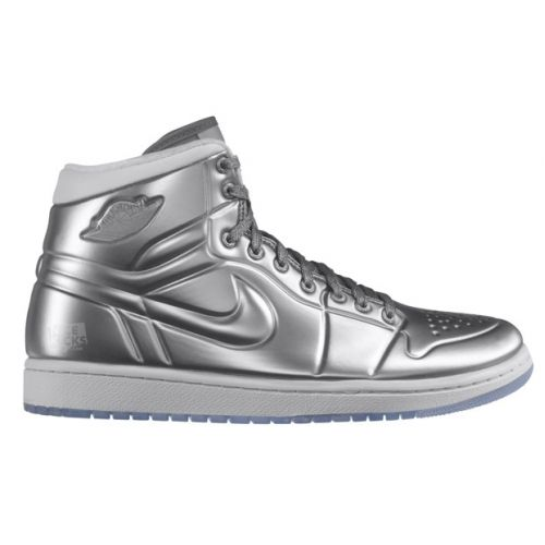 premium selection 28c98 f4941 Air Jordan 1 Anodized Metallic Silver White 414823-001