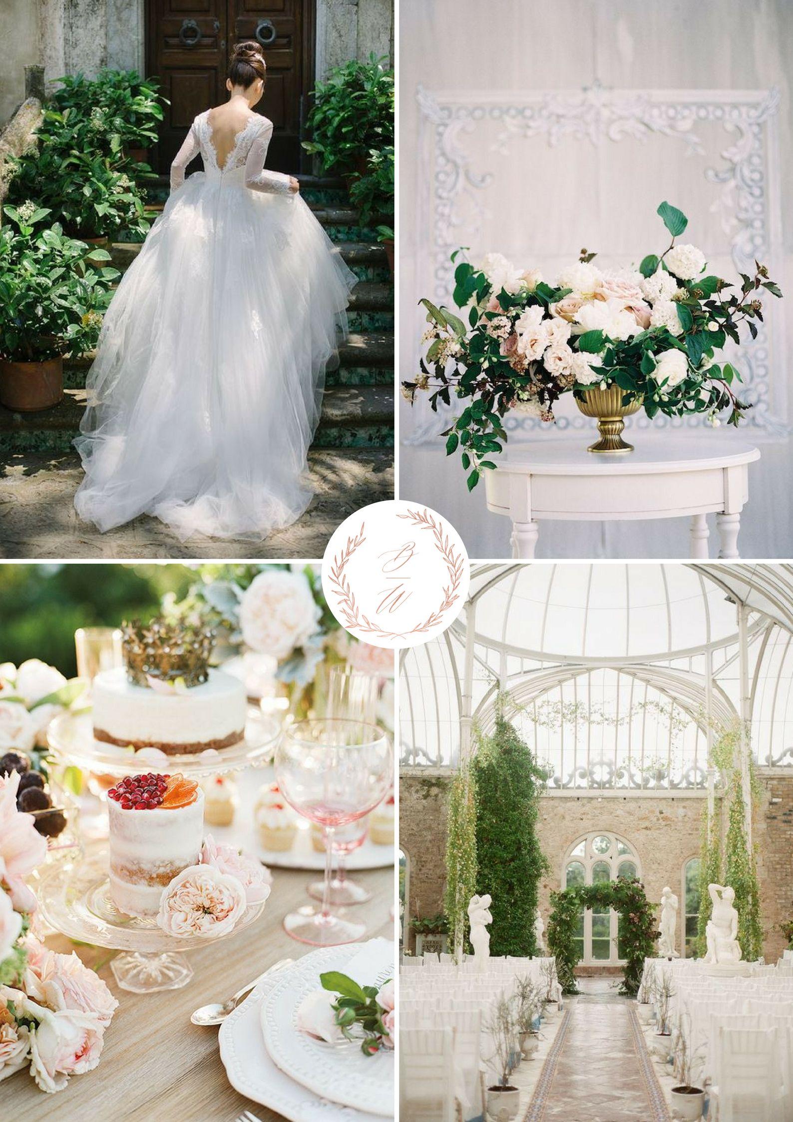 Summer wedding ins…   English Elegance Wedding Inspiration by Blush ...