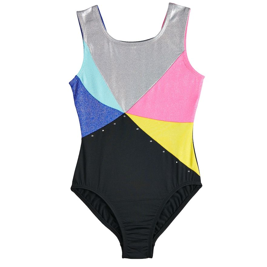 0c53b6aec8d9 Girls 4-14 Jacques Moret Hologram Leotard
