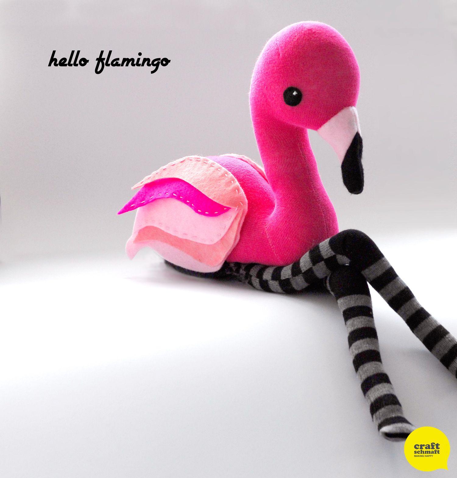 hello flamingo so cute! | muñecos fieltro | Pinterest