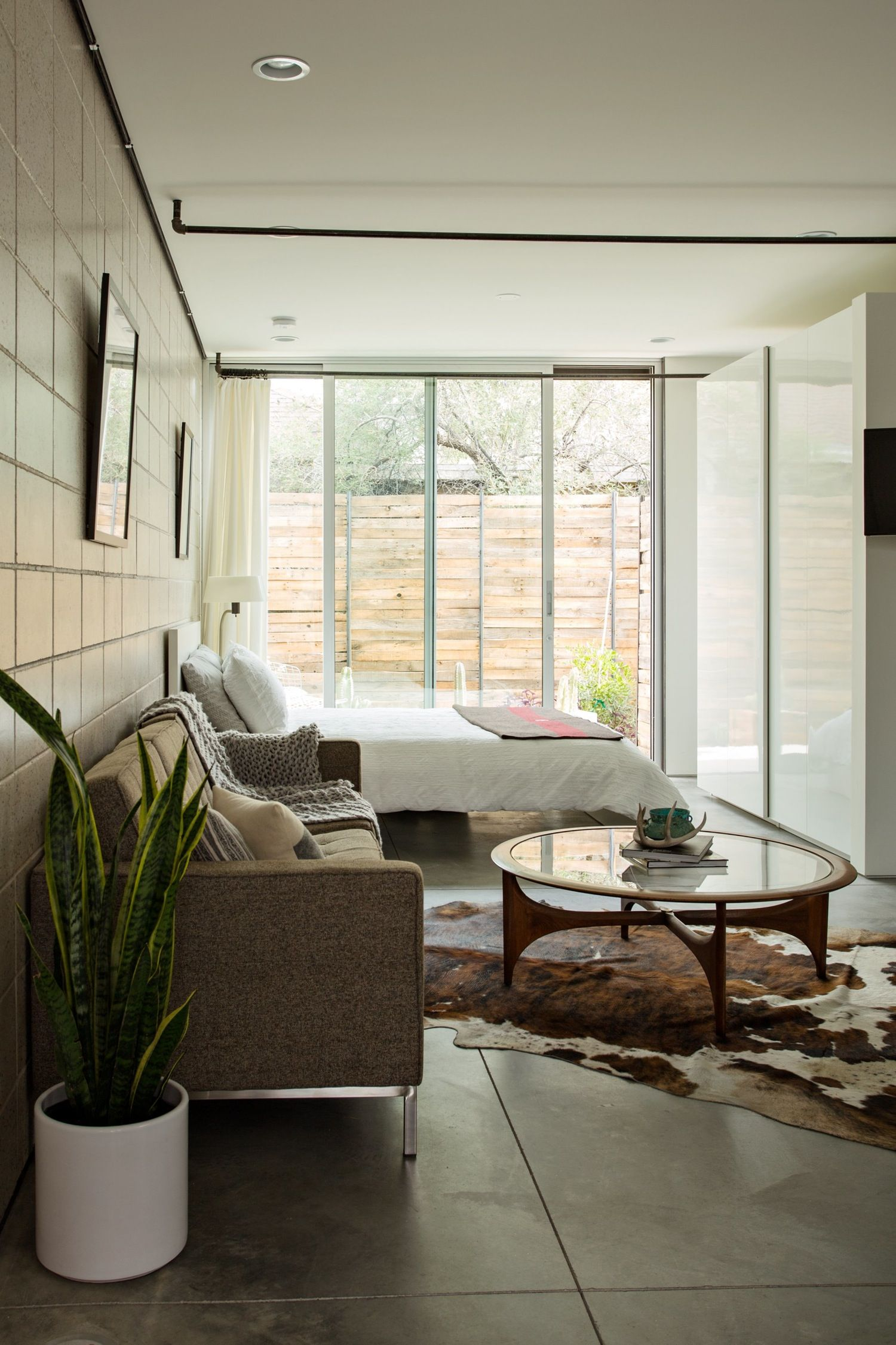 A Small Sophisticated 468 Square Foot Urban Arizona Studio Apartment House Tour
